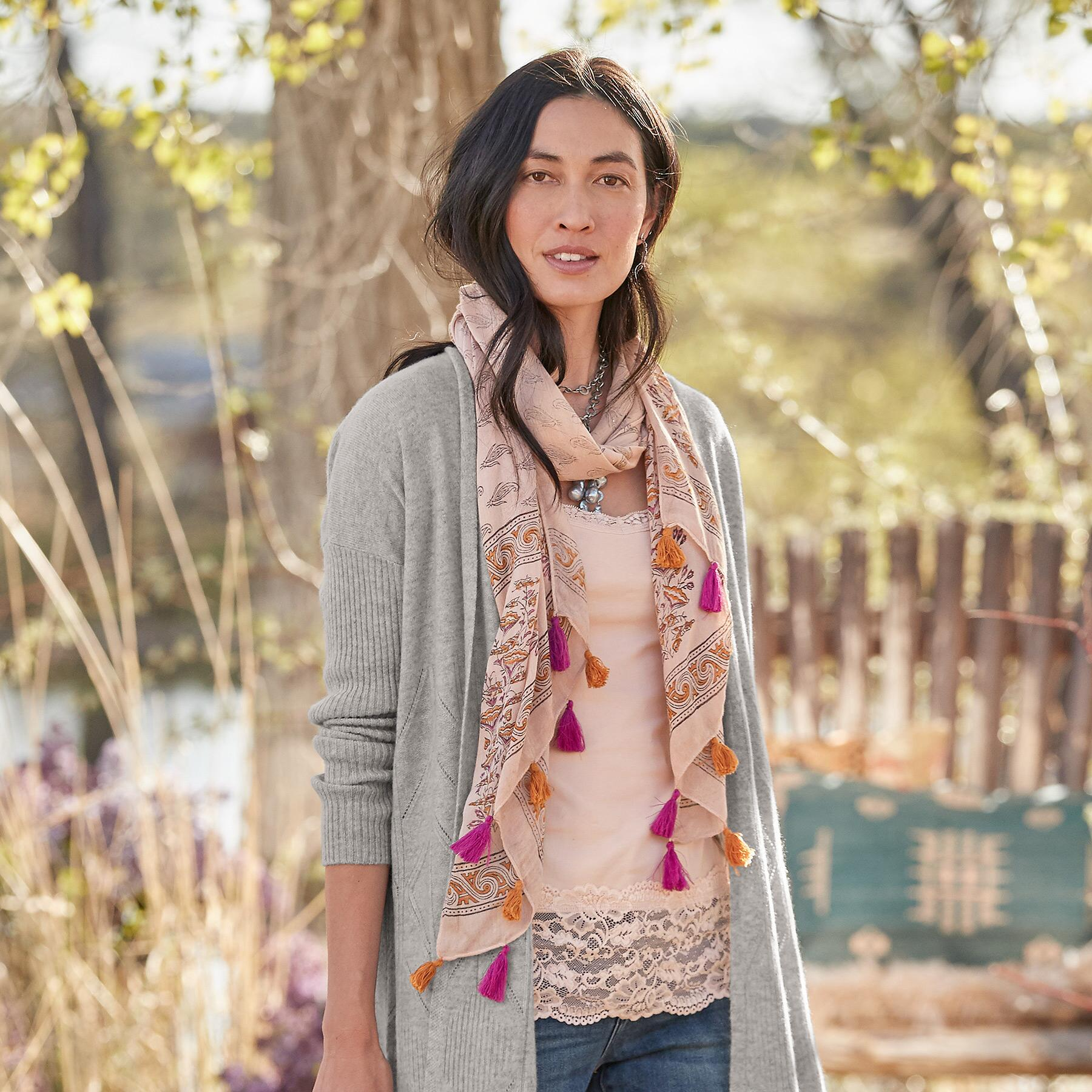 PEACH PERFECTION SCARF: View 3