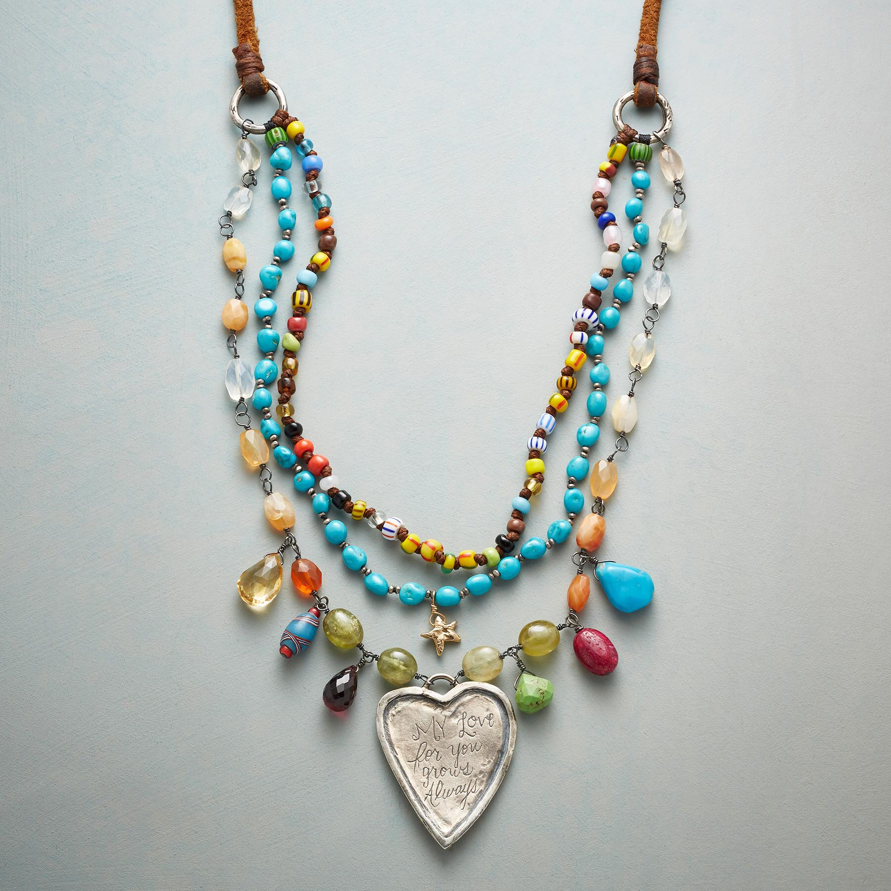 HEART OF WISDOM NECKLACE: View 3