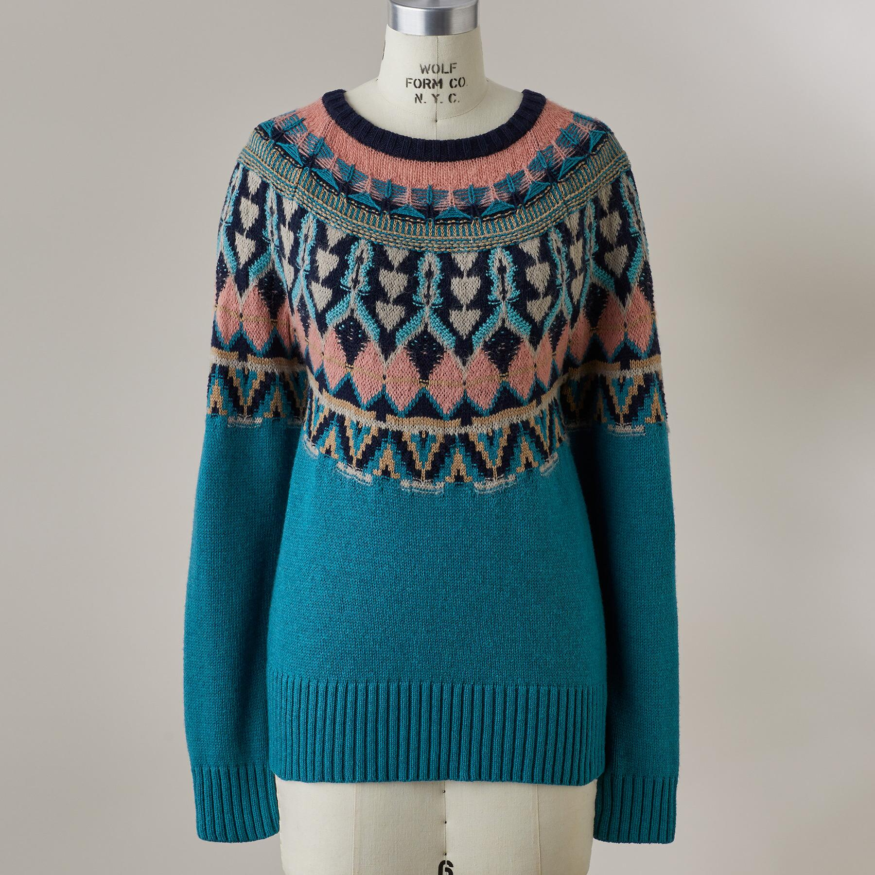 HARLOW FAIR ISLE SWEATER: View 3