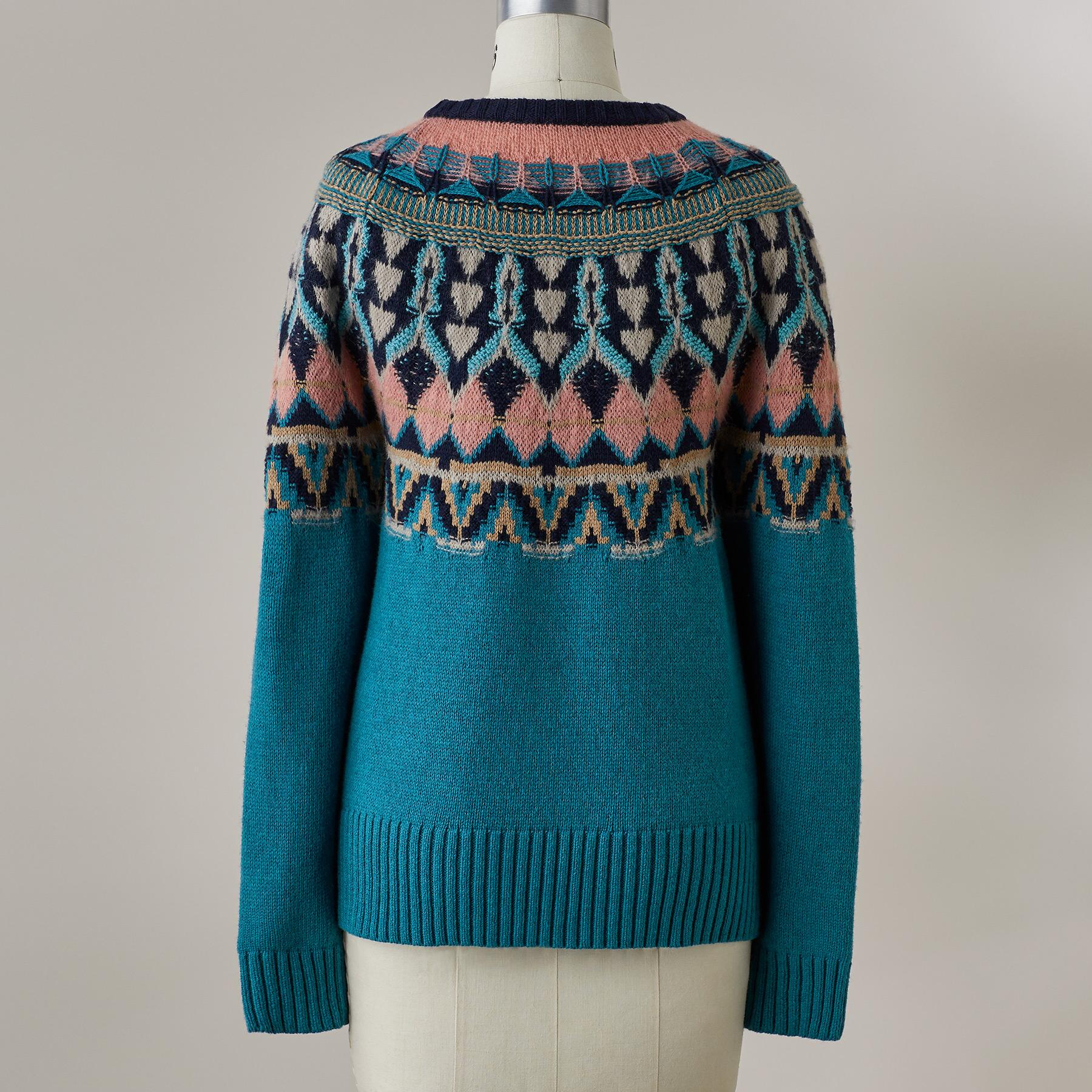 HARLOW FAIR ISLE SWEATER: View 4