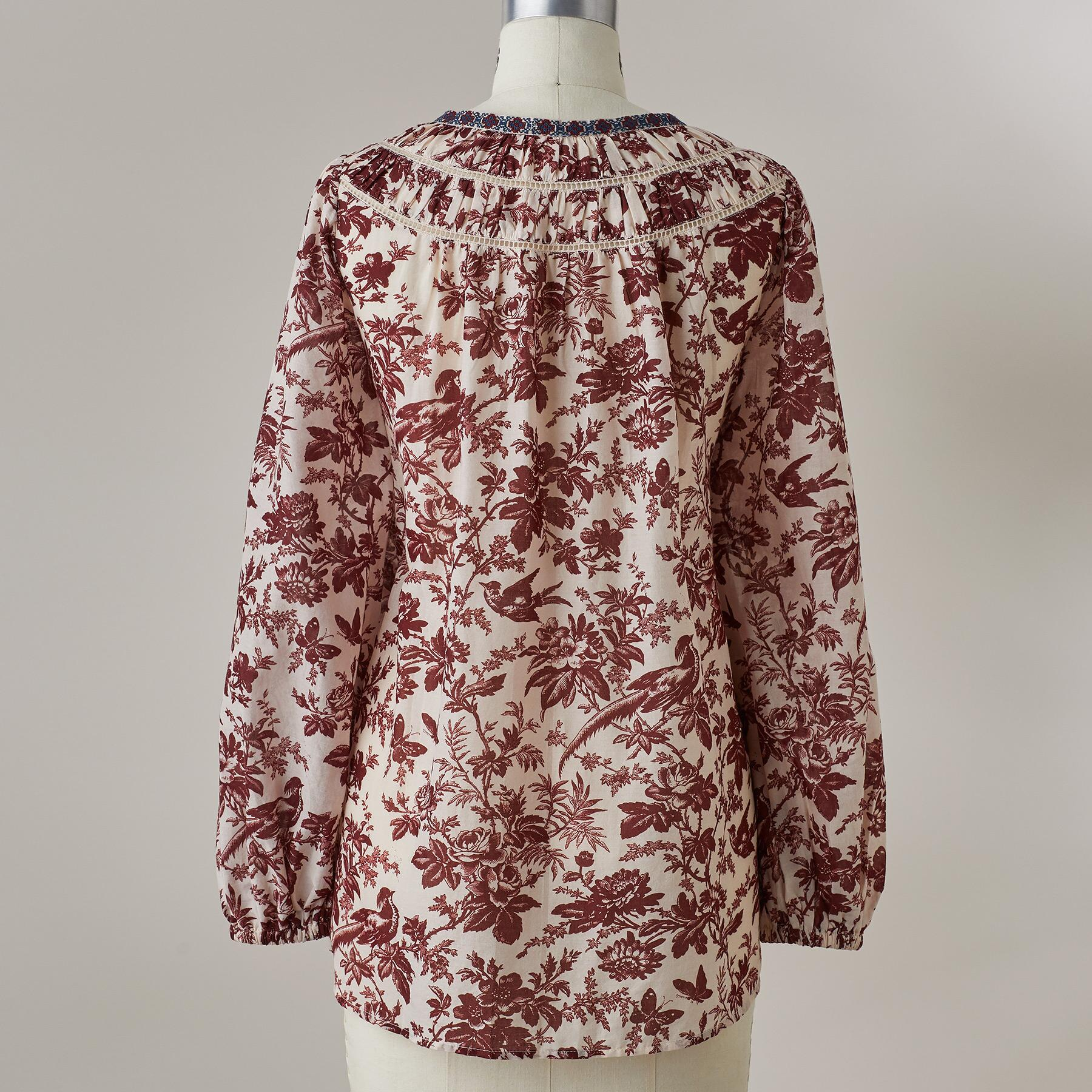 LOISE TOILE TOP: View 3