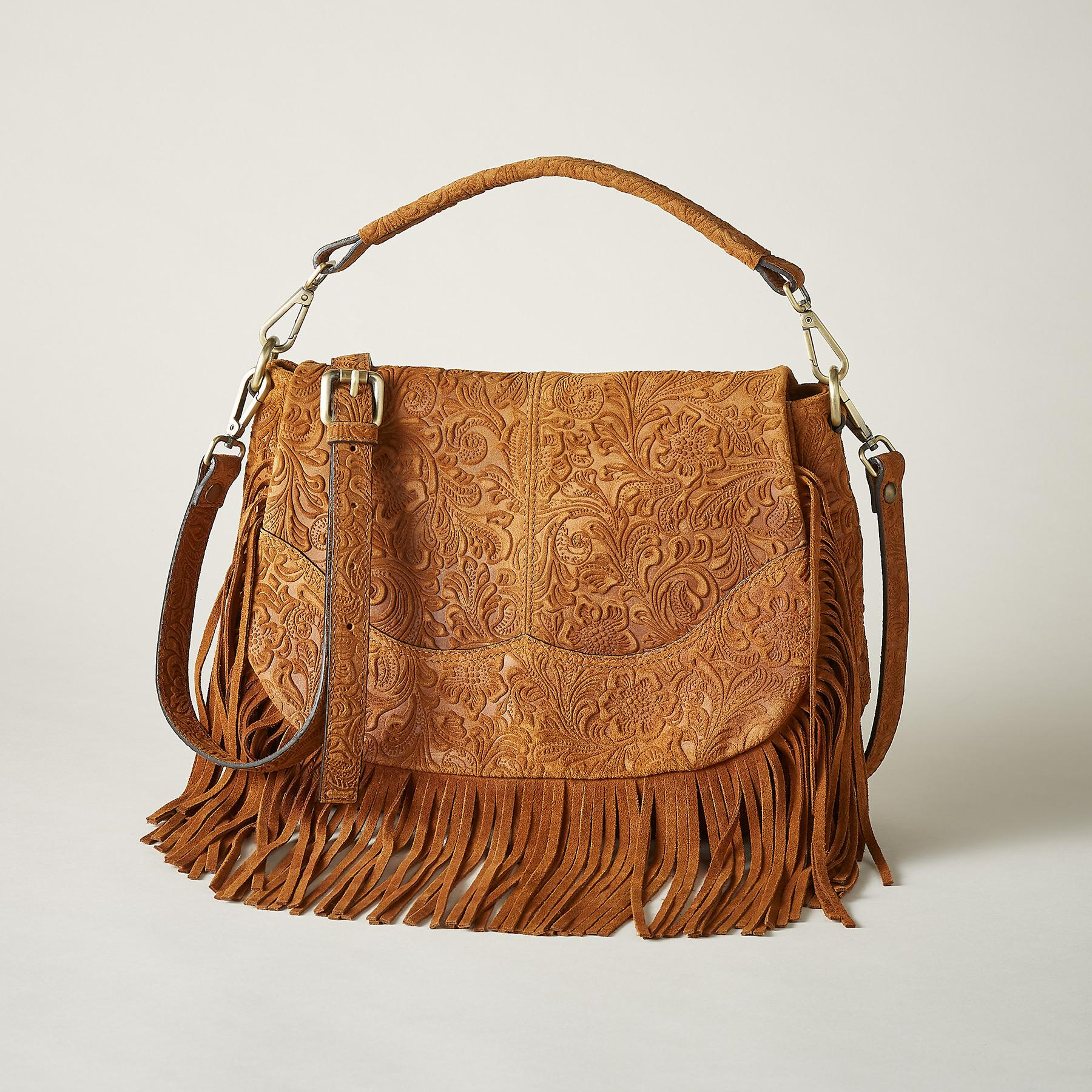 DURANGO FRINGED BAG: View 1