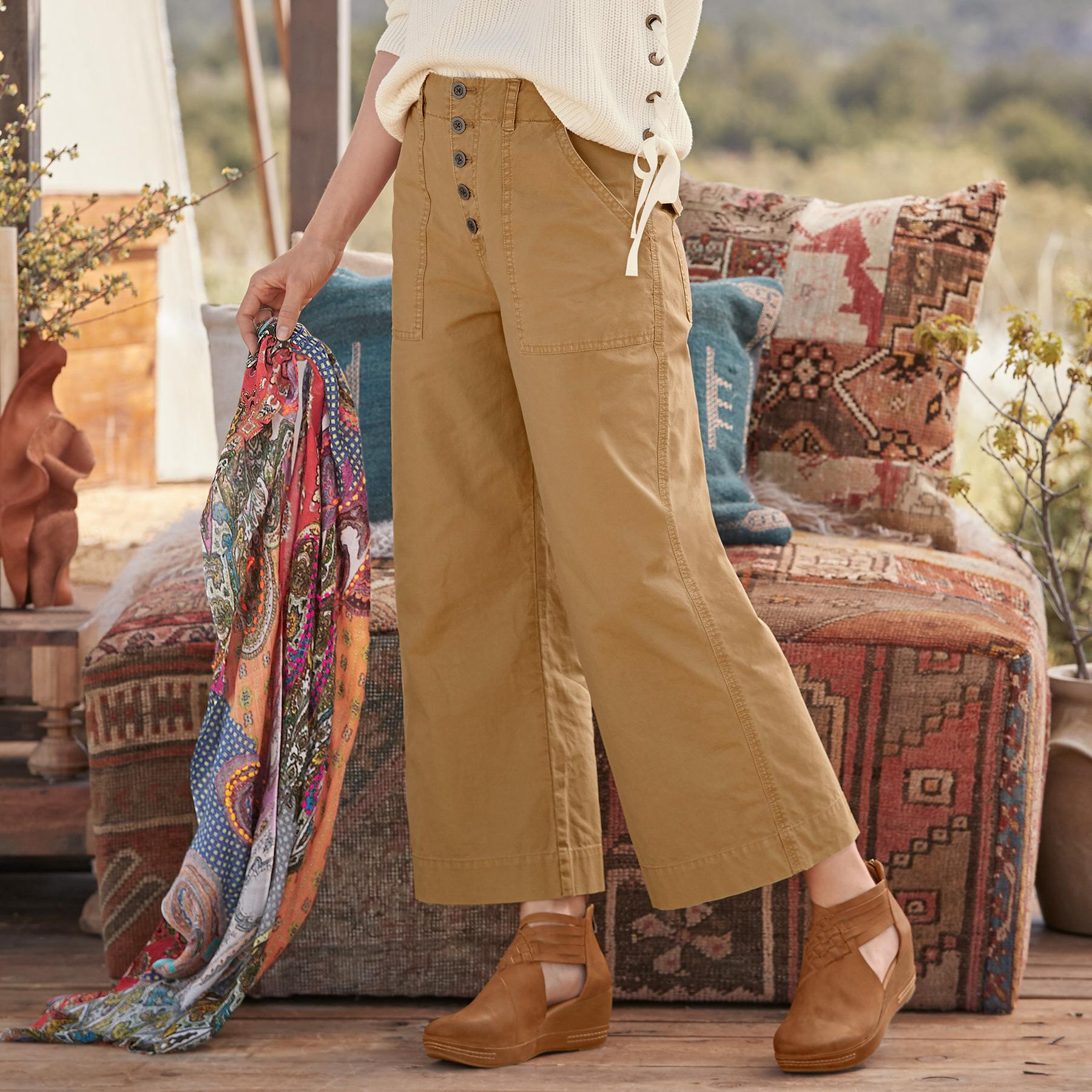 MARNE CROPPED SURPLUS PANTS: View 1