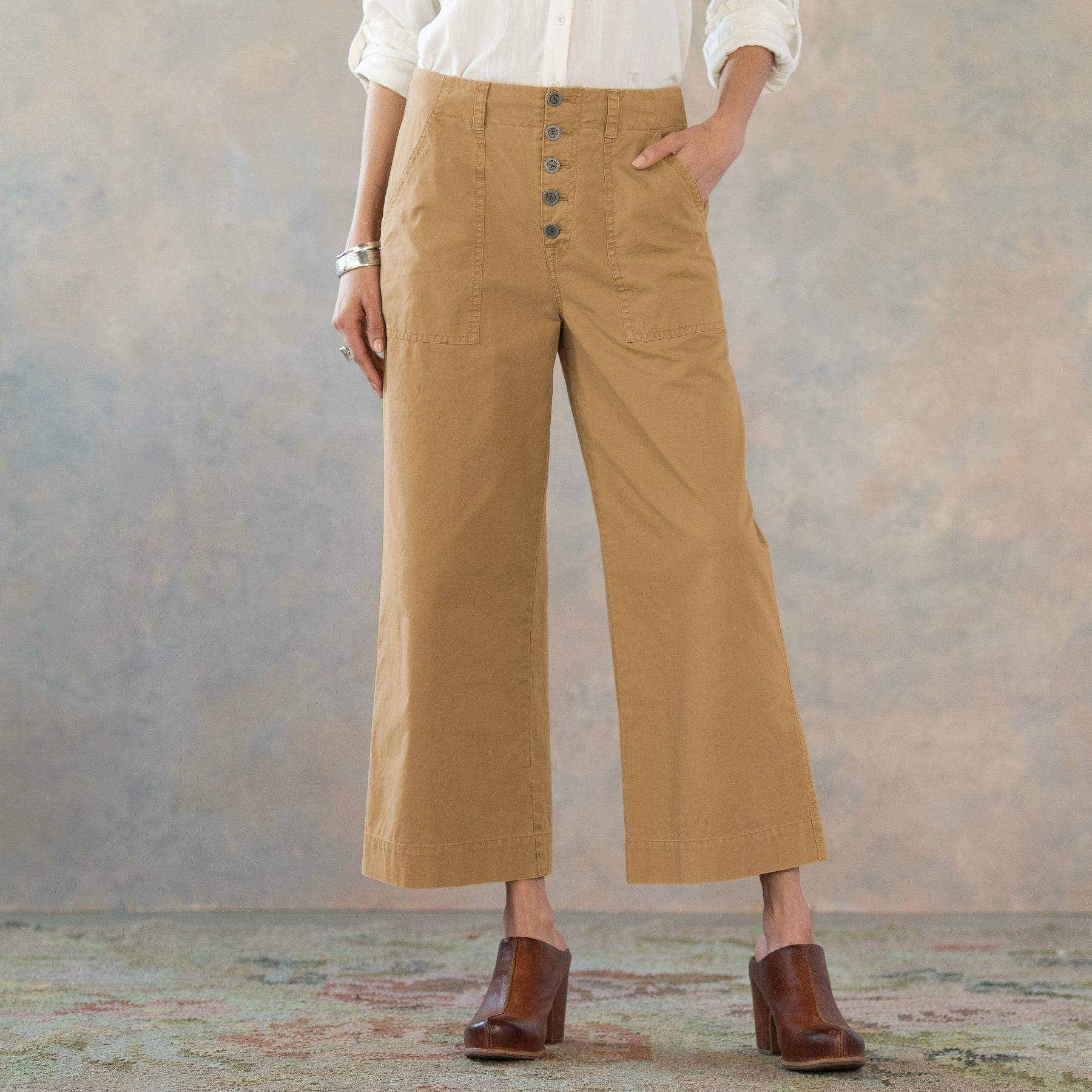 MARNE CROPPED SURPLUS PANTS: View 2