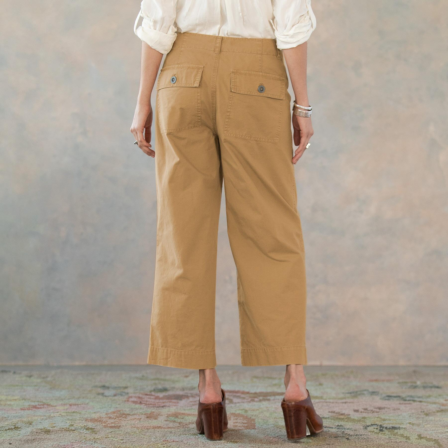 MARNE CROPPED SURPLUS PANTS: View 3