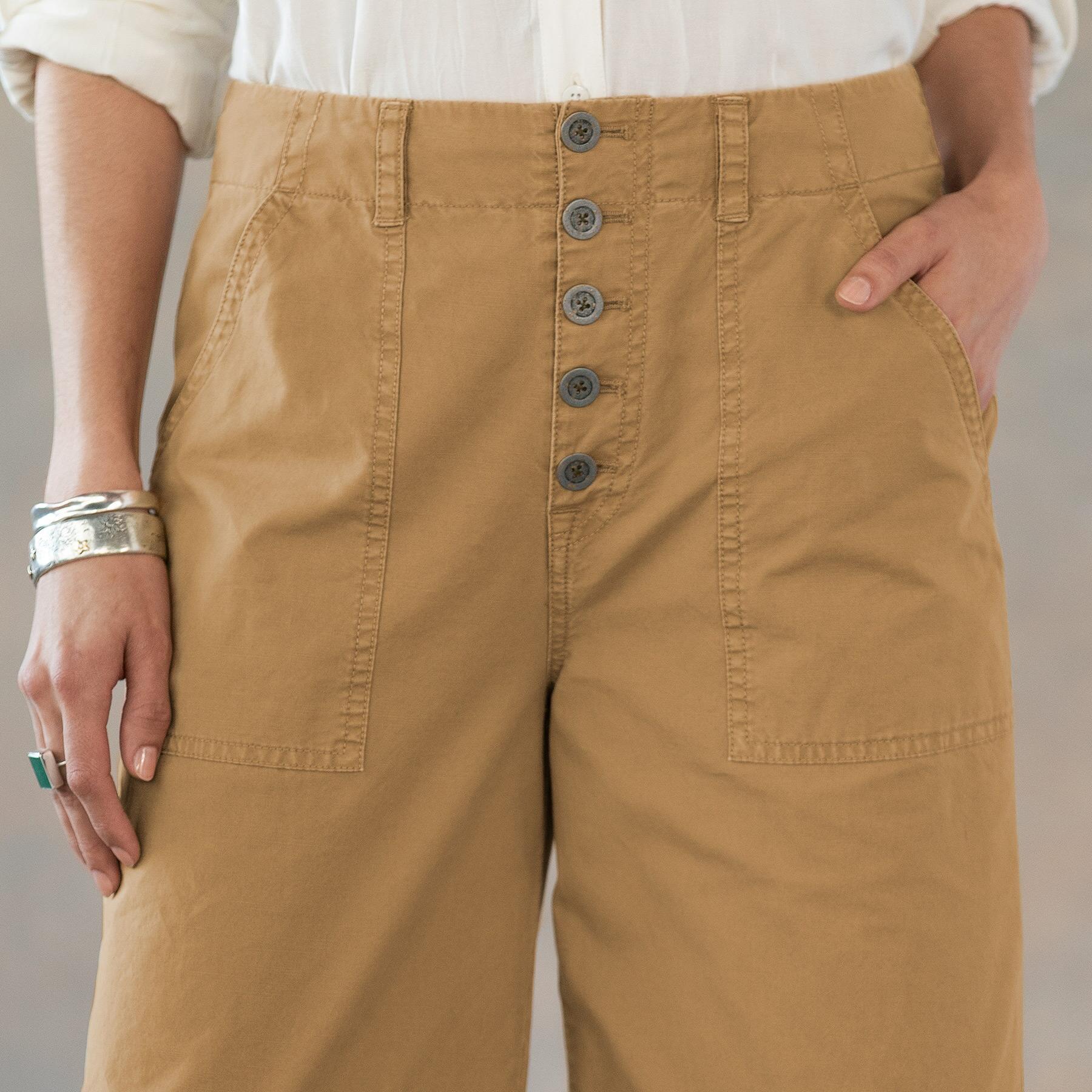 MARNE CROPPED SURPLUS PANTS PETITE: View 4