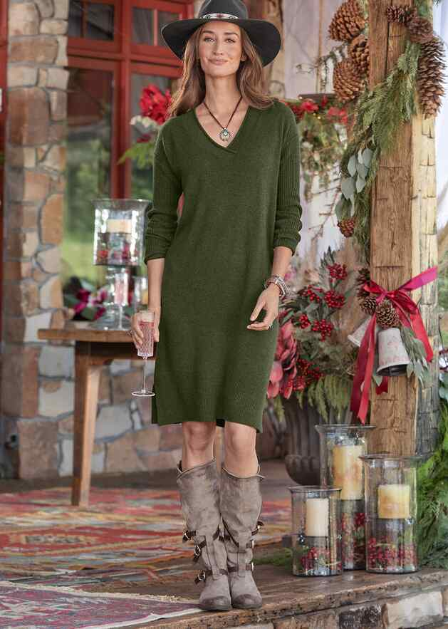 TILLIE CASHMERE DRESS