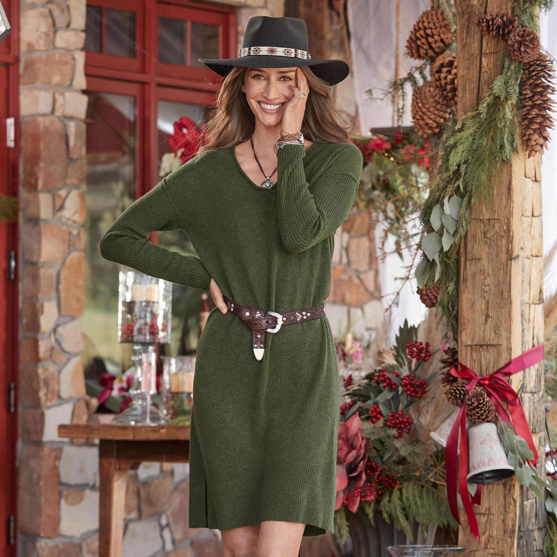 TILLIE CASHMERE DRESS: View 2