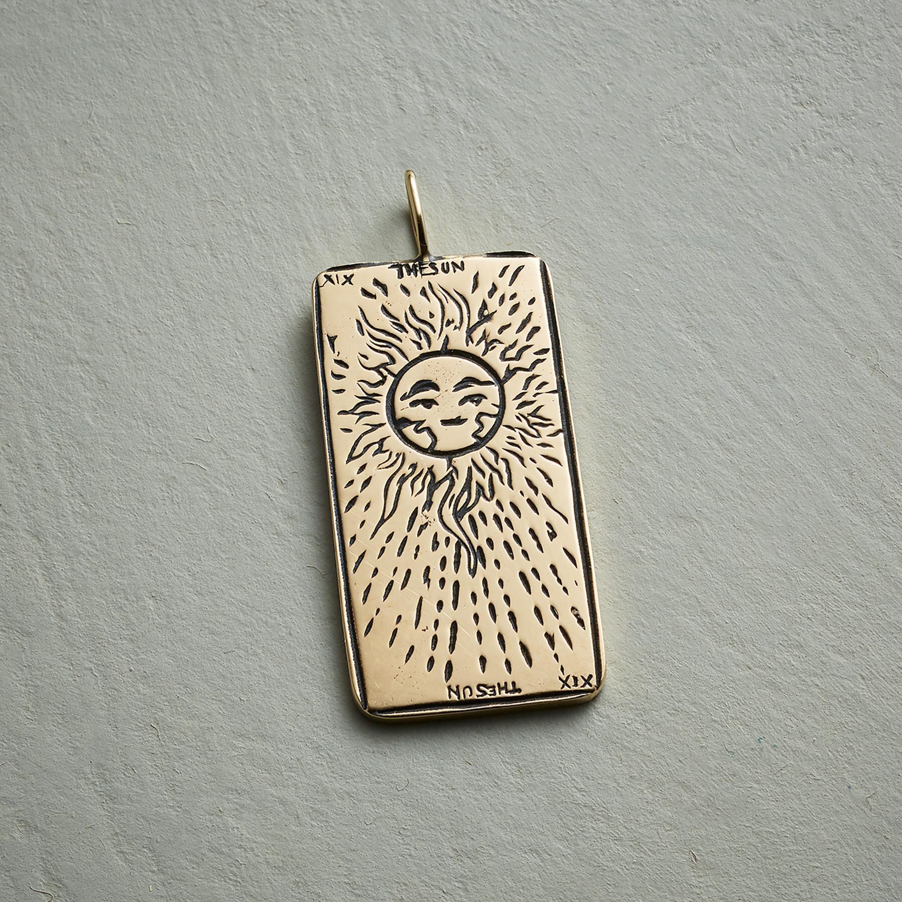 SUN TAROT CARD PENDANT: View 1
