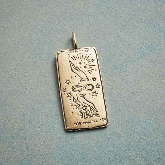 MAGICIAN TAROT CARD PENDANT