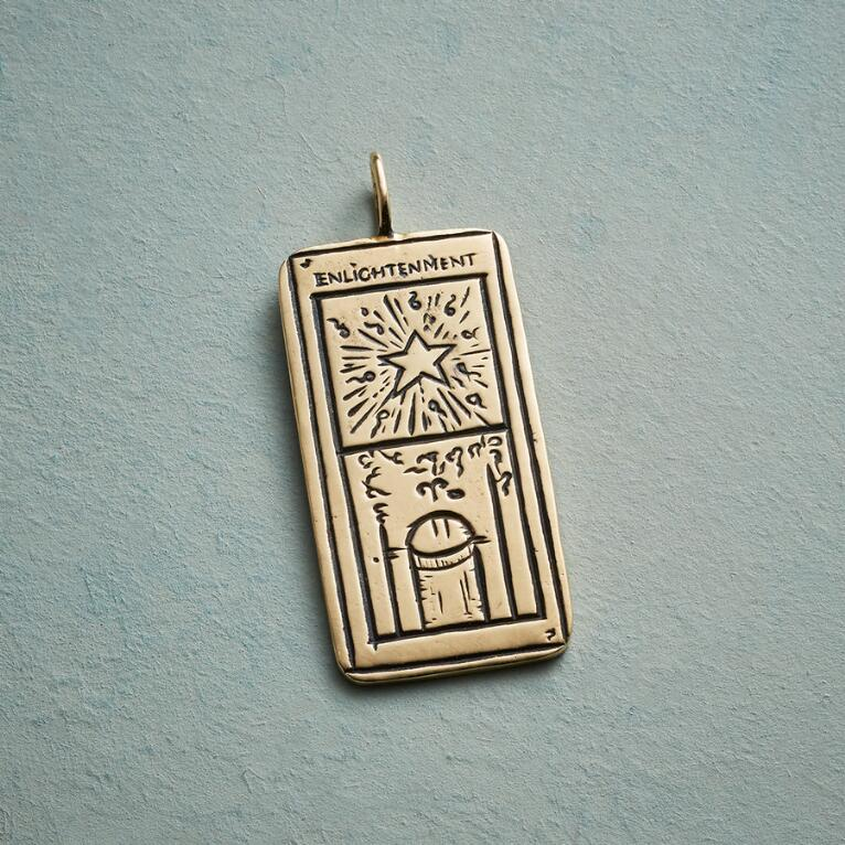 ENLIGHTENMENT TAROT CARD PENDANT