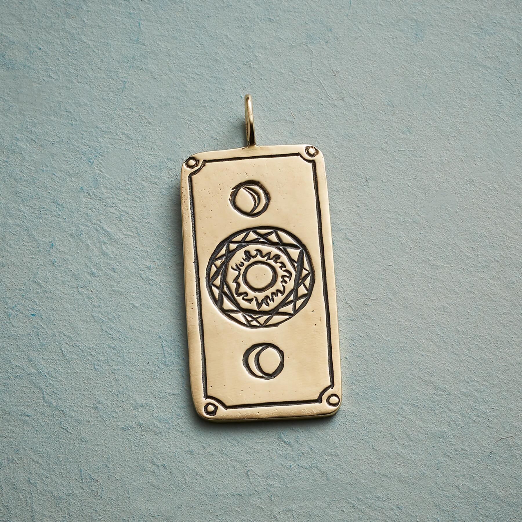 ENLIGHTENMENT TAROT CARD PENDANT: View 2