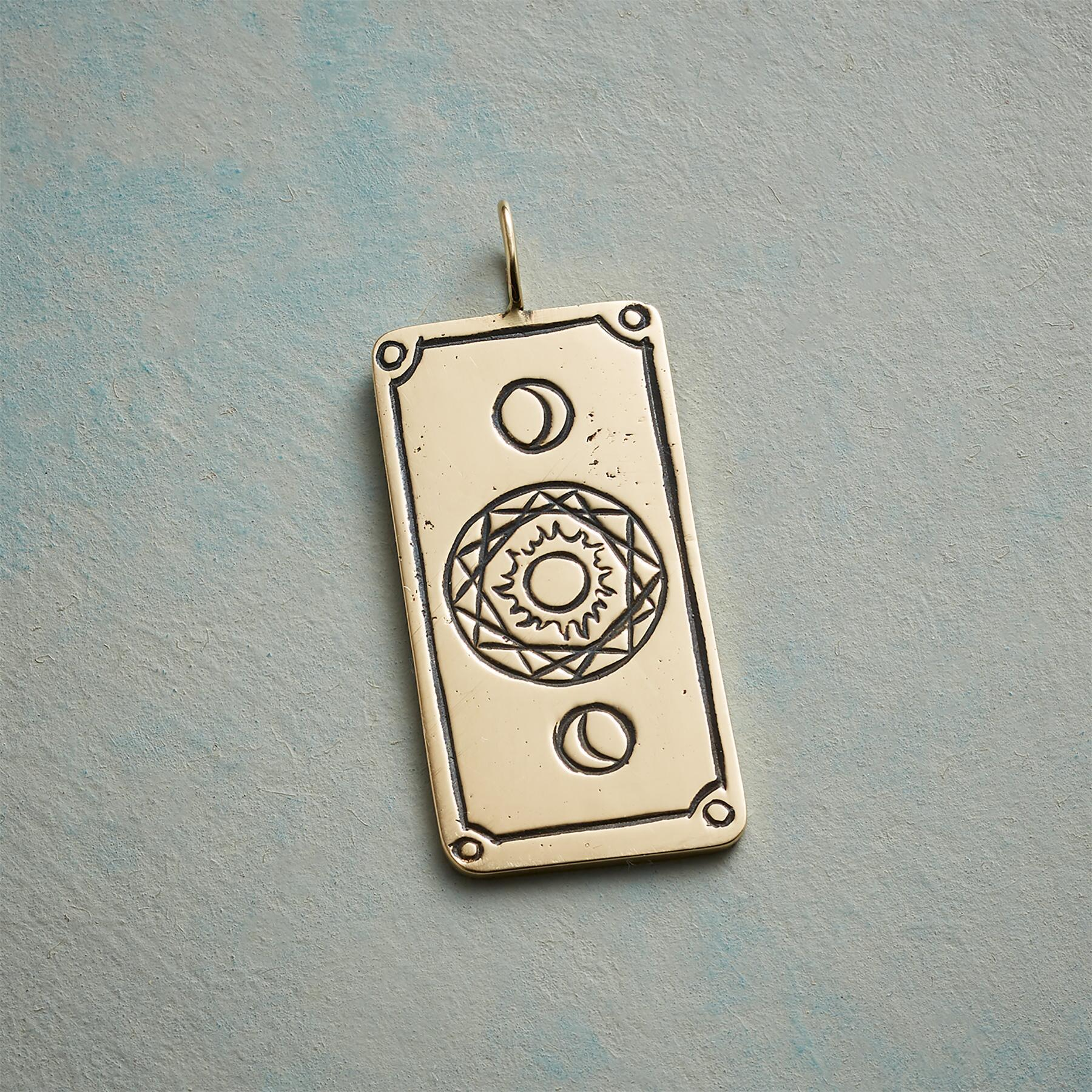 LOVERS TAROT CARD PENDANT: View 2