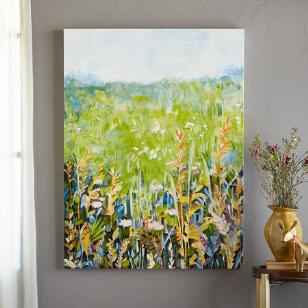 AFTERNOON IN THE MEADOW PAINTING