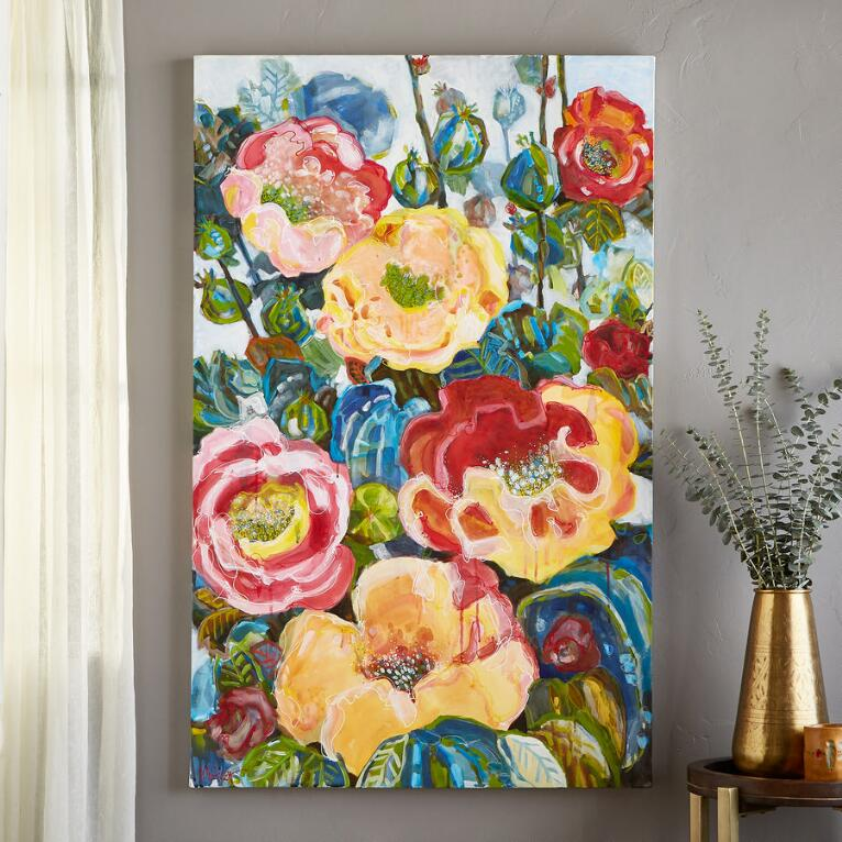 FLORAL COLORS PAINTING