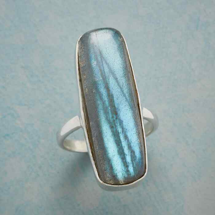 SO LONG LABRADORITE RING