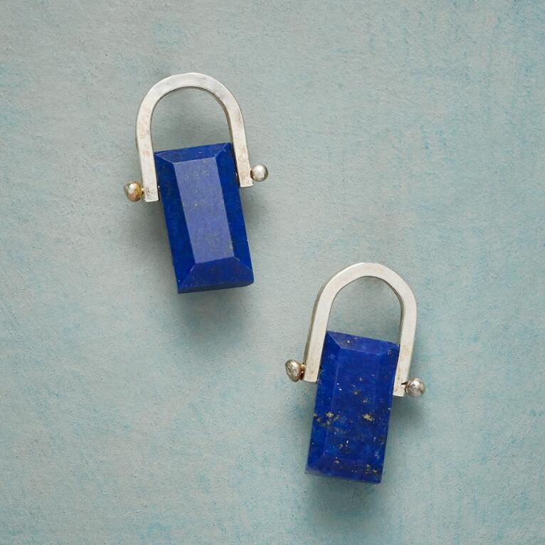 LAPIS PERGOLA EARRINGS