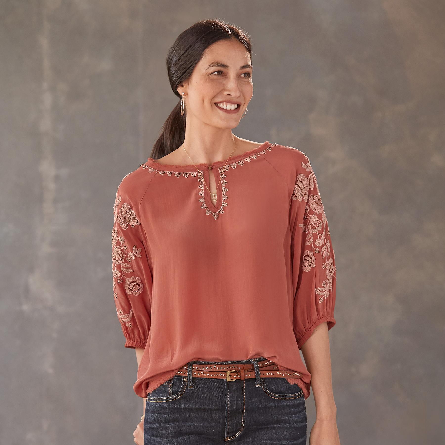 BELLISSIMO BLOUSE - PETITES: View 1