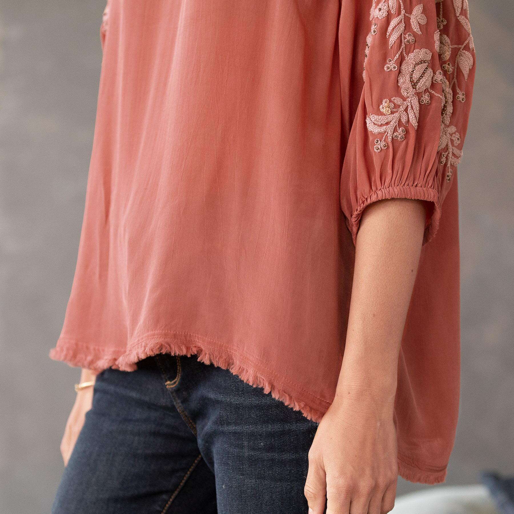 BELLISSIMO BLOUSE - PETITES: View 4