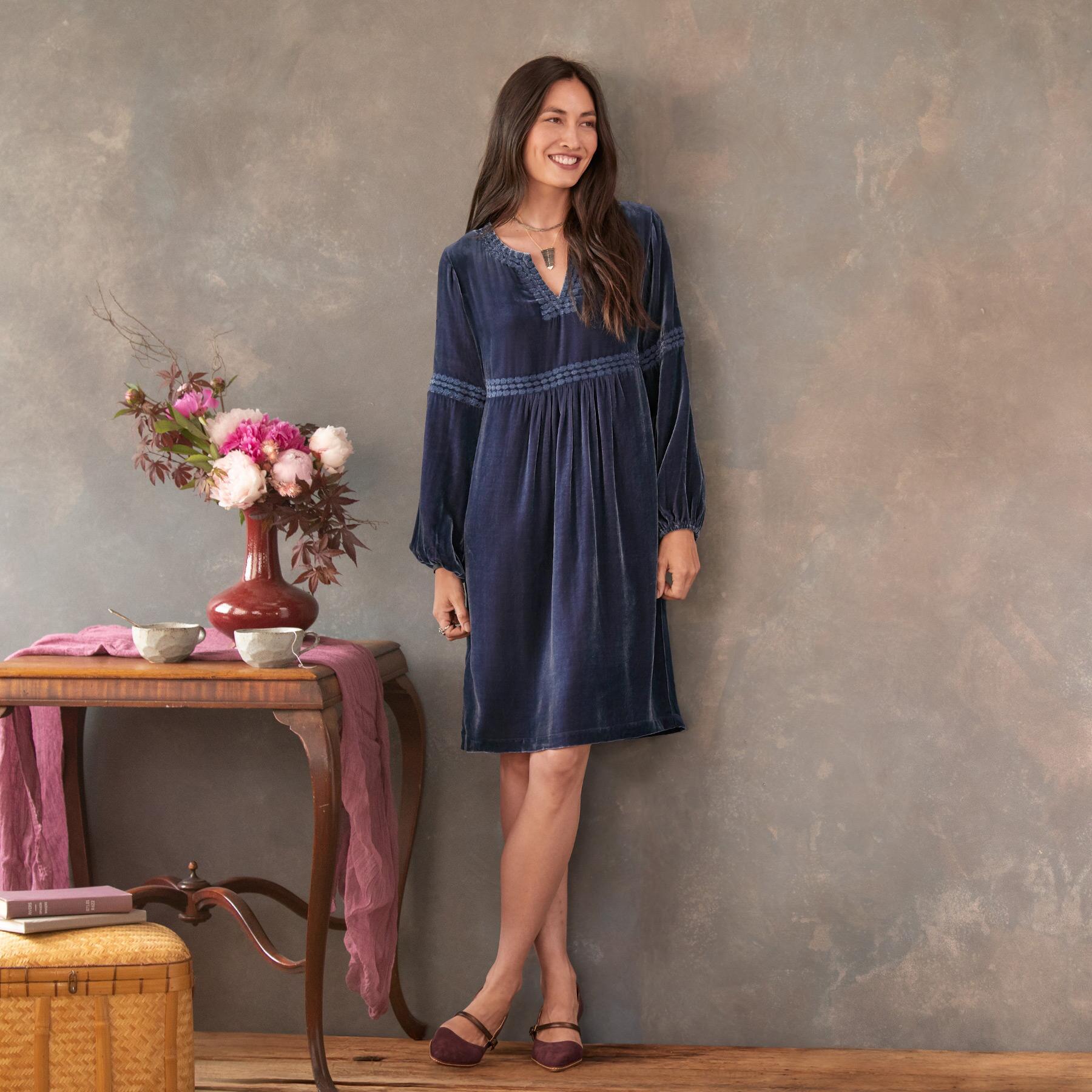 SHIMMERING MOONLIGHT DRESS - PETITES: View 1