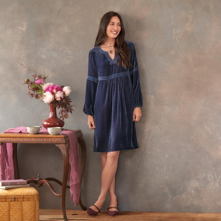 SHIMMERING MOONLIGHT DRESS - PETITES