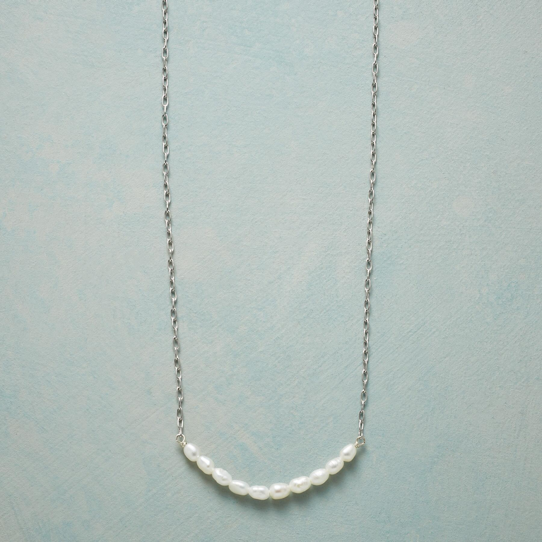 PEARLY WHITE NECKLACE: View 1