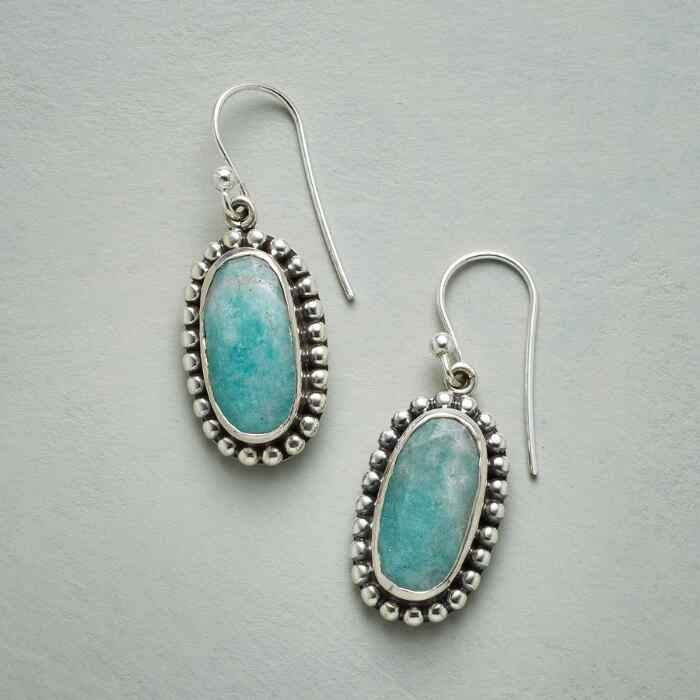 LACEY AMAZONITE EARRINGS