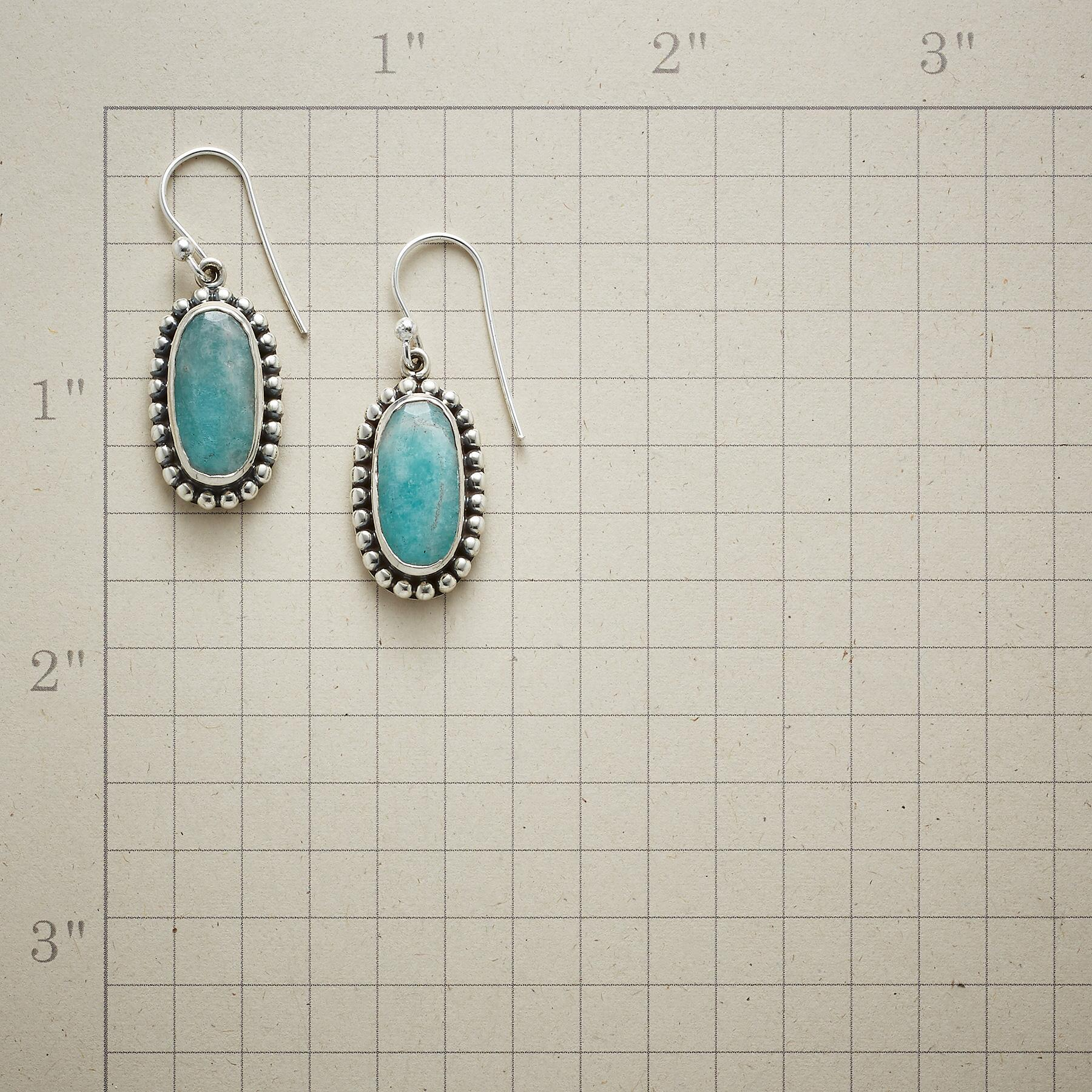 LACEY AMAZONITE EARRINGS: View 2
