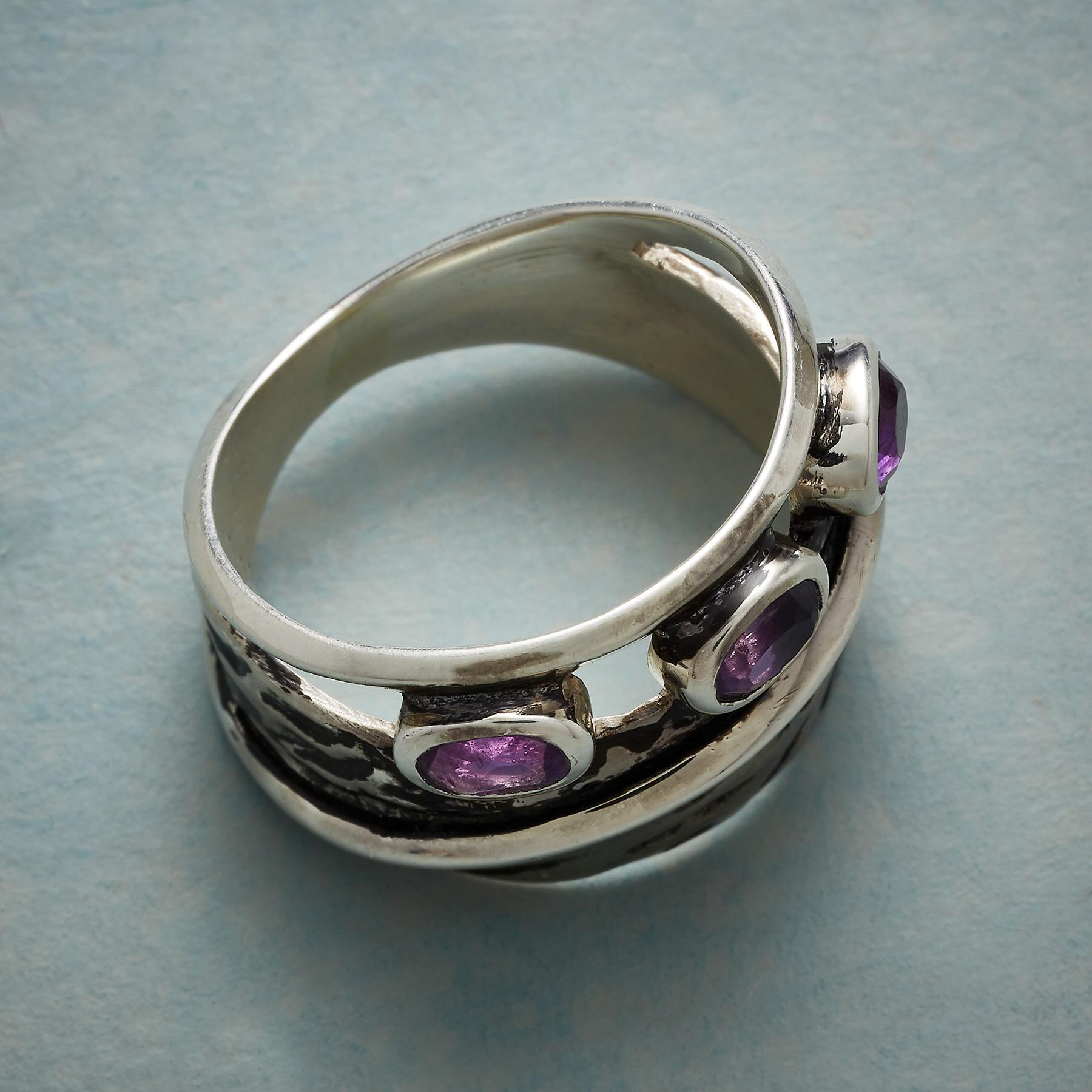 AMETHYST ECHOES RING: View 2