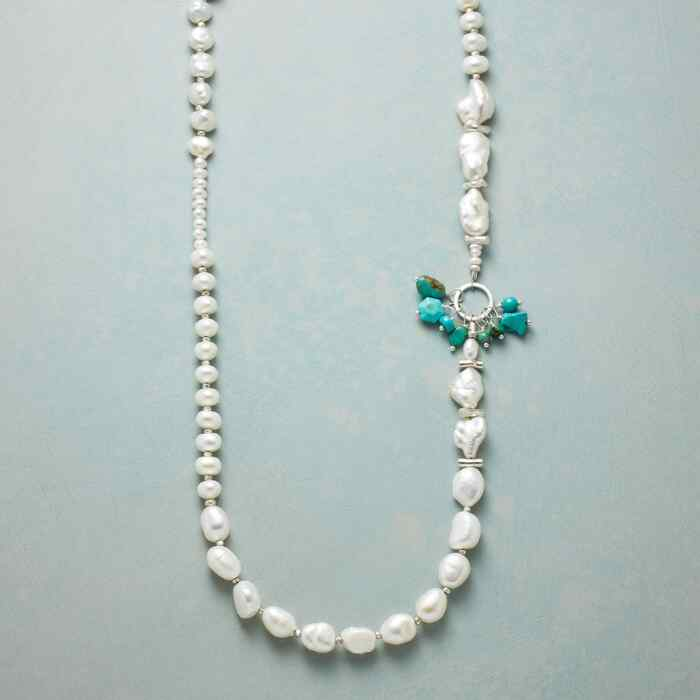 BURST OF TURQUOISE NECKLACE