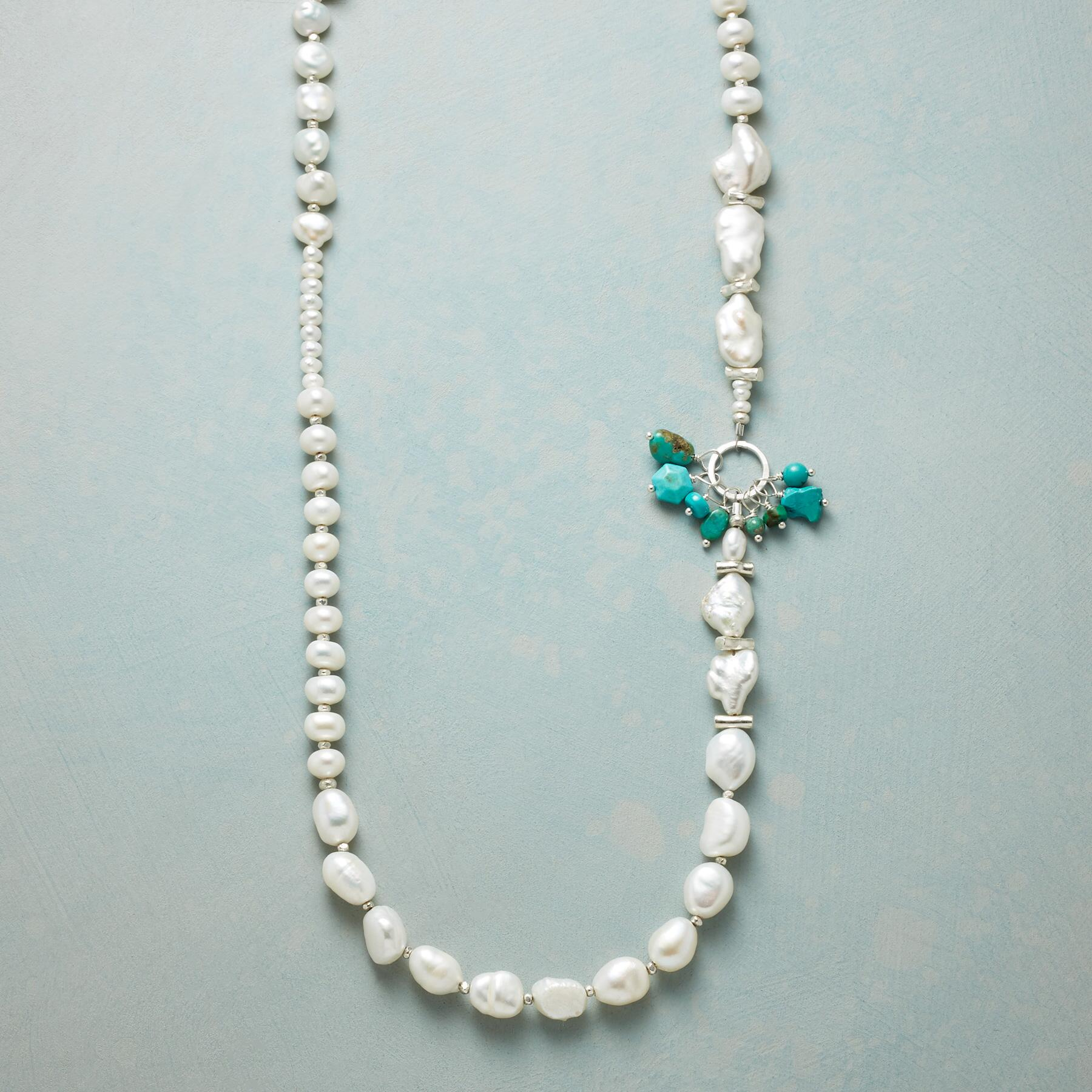 BURST OF TURQUOISE NECKLACE: View 1