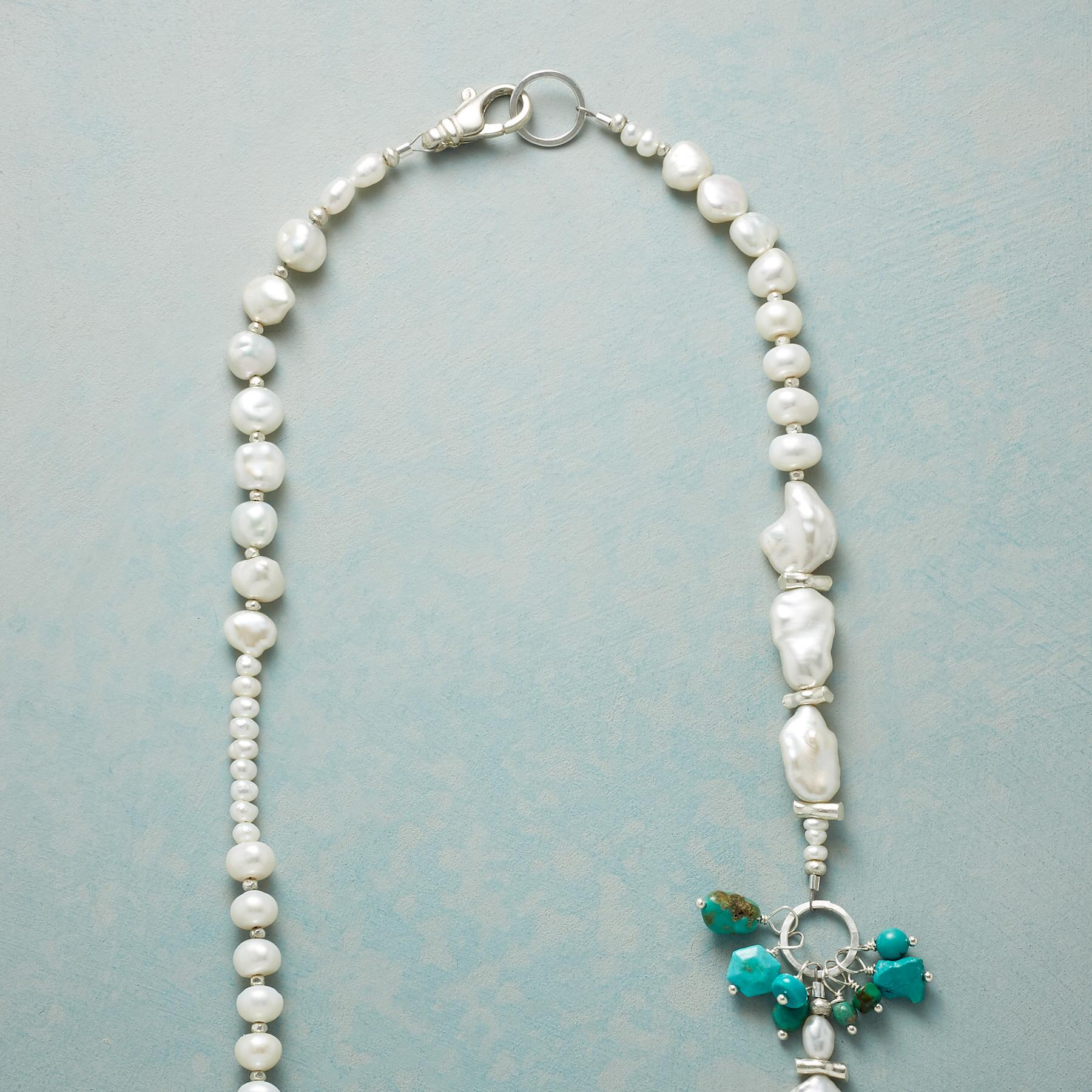 BURST OF TURQUOISE NECKLACE: View 3