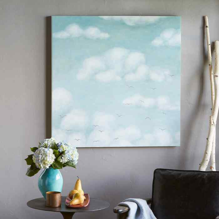 ABOVE THE CLOUDS PAINTING
