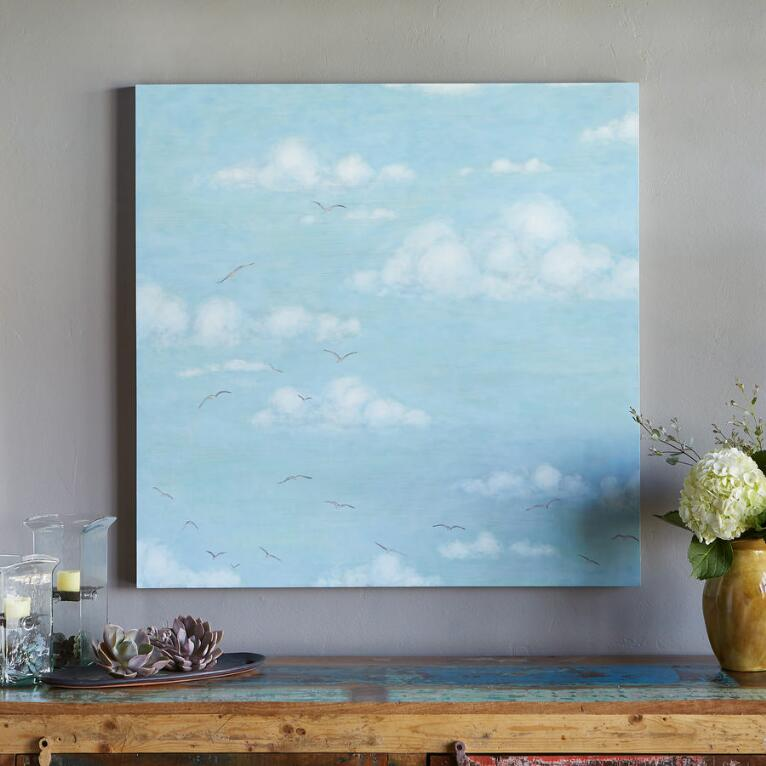 BEYOND THE CLOUDS PAINTING