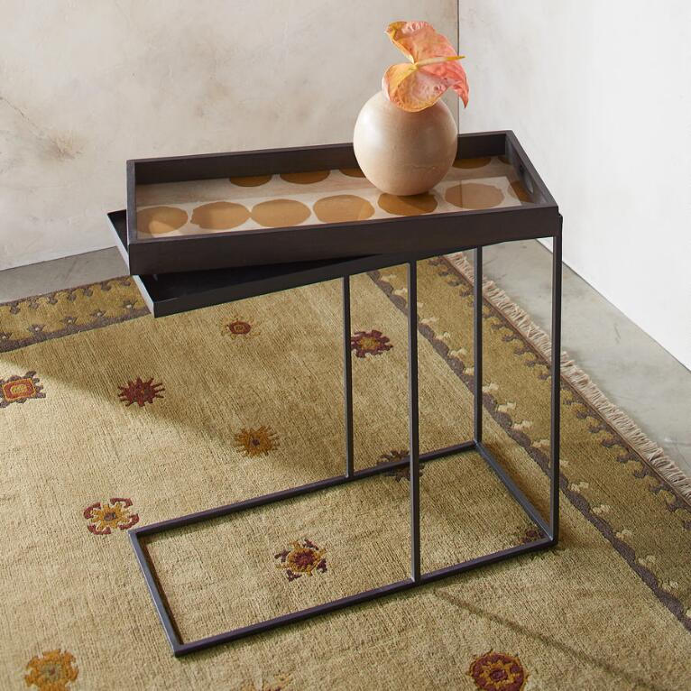 SIENNA DOT SIDE TABLE