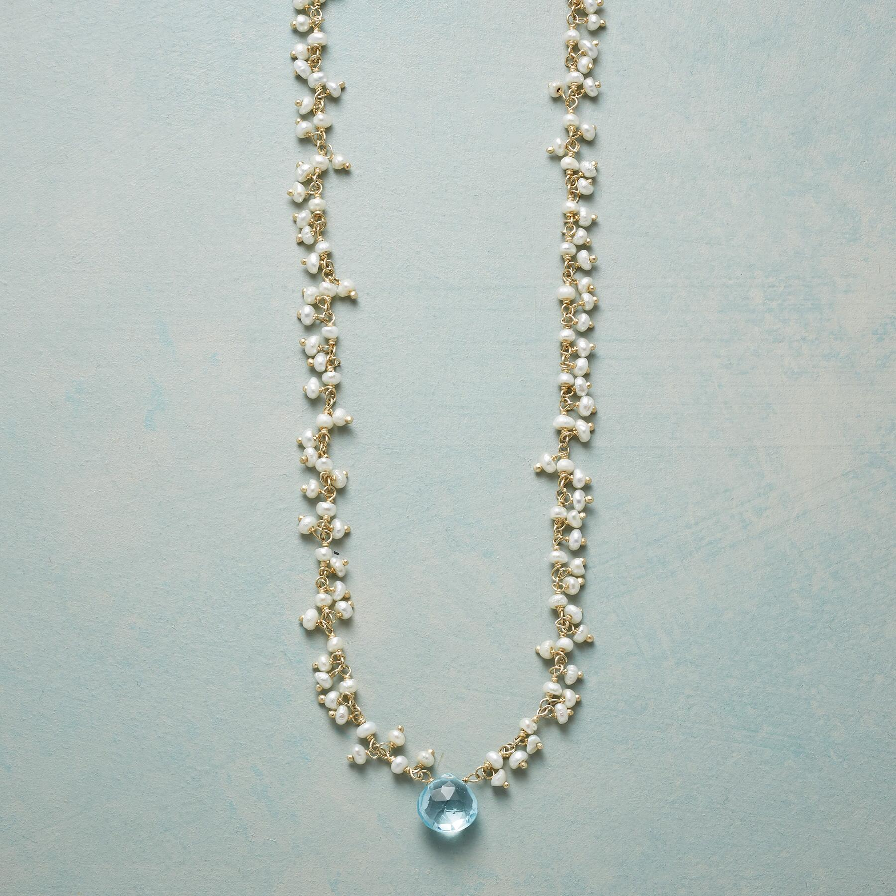 BABY'S BREATH NECKLACE: View 1