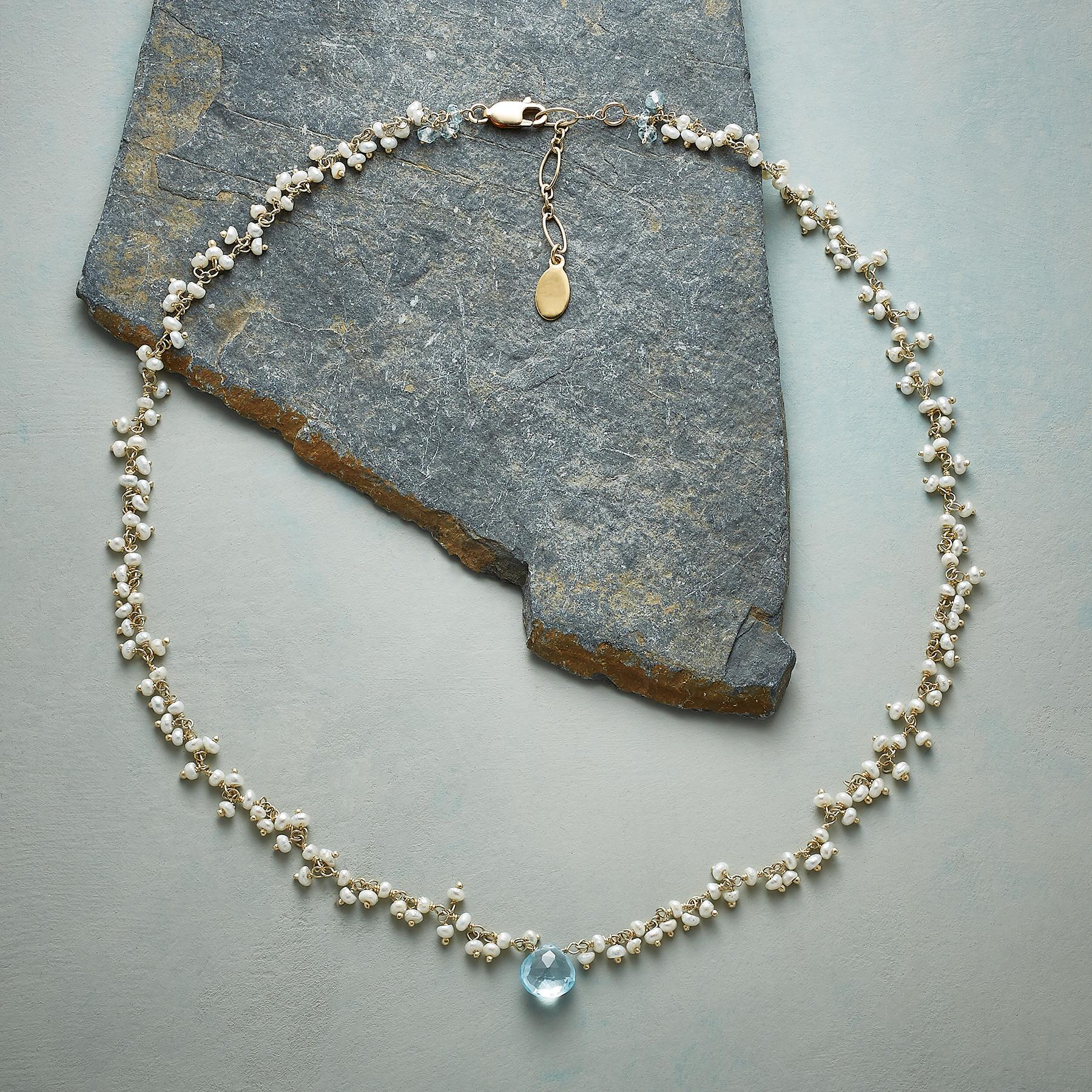 BABY'S BREATH NECKLACE: View 2