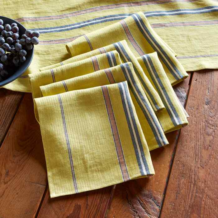 BELGIN NAPKINS, SET OF 6