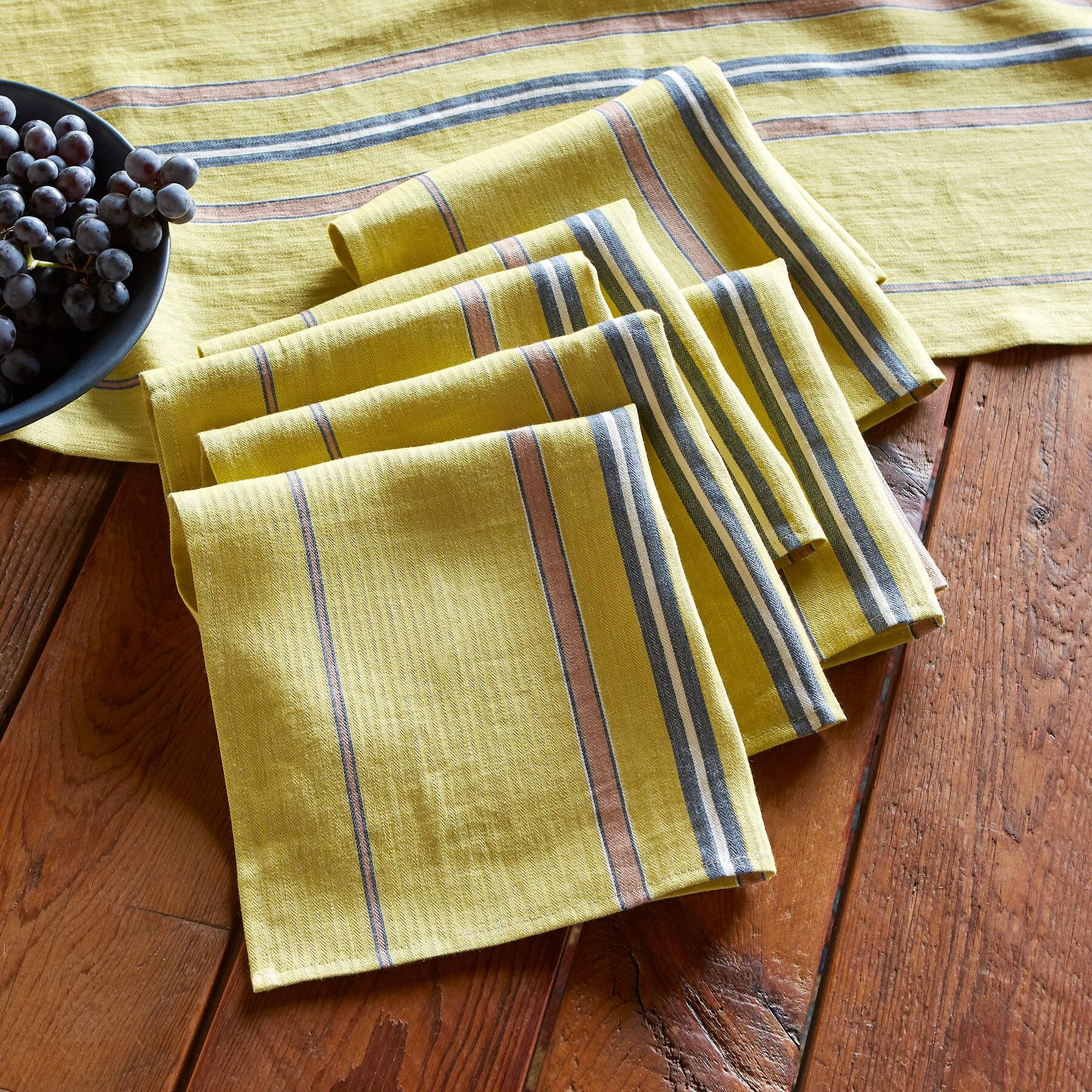 BELGIN NAPKINS, SET OF 6: View 1