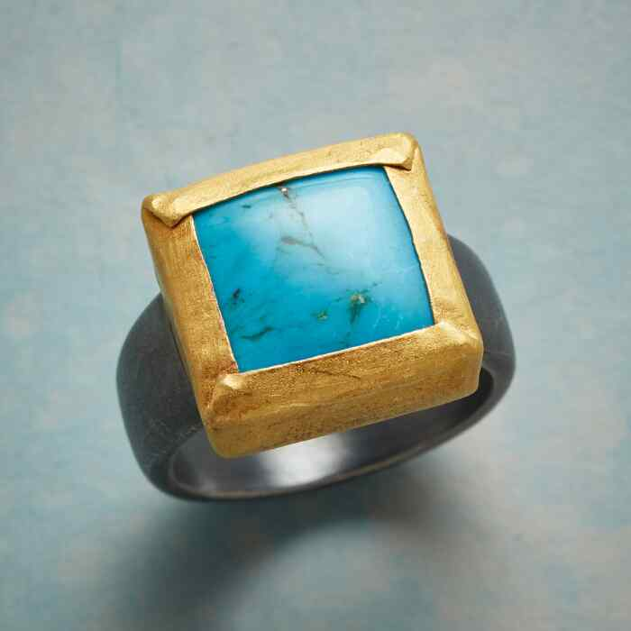 PHENOMENA TURQUOISE RING
