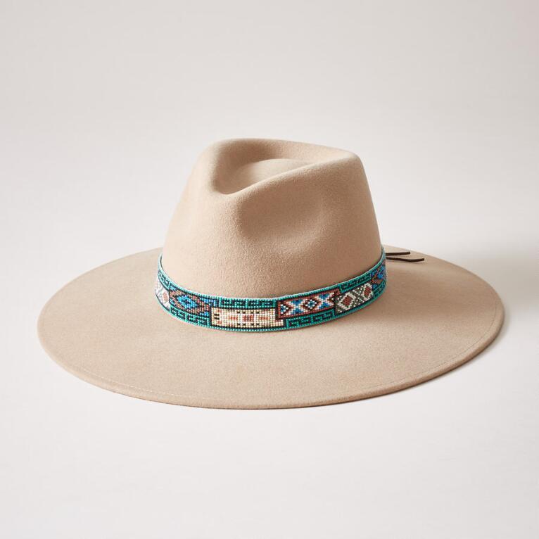 AZTEC BEADED HAT