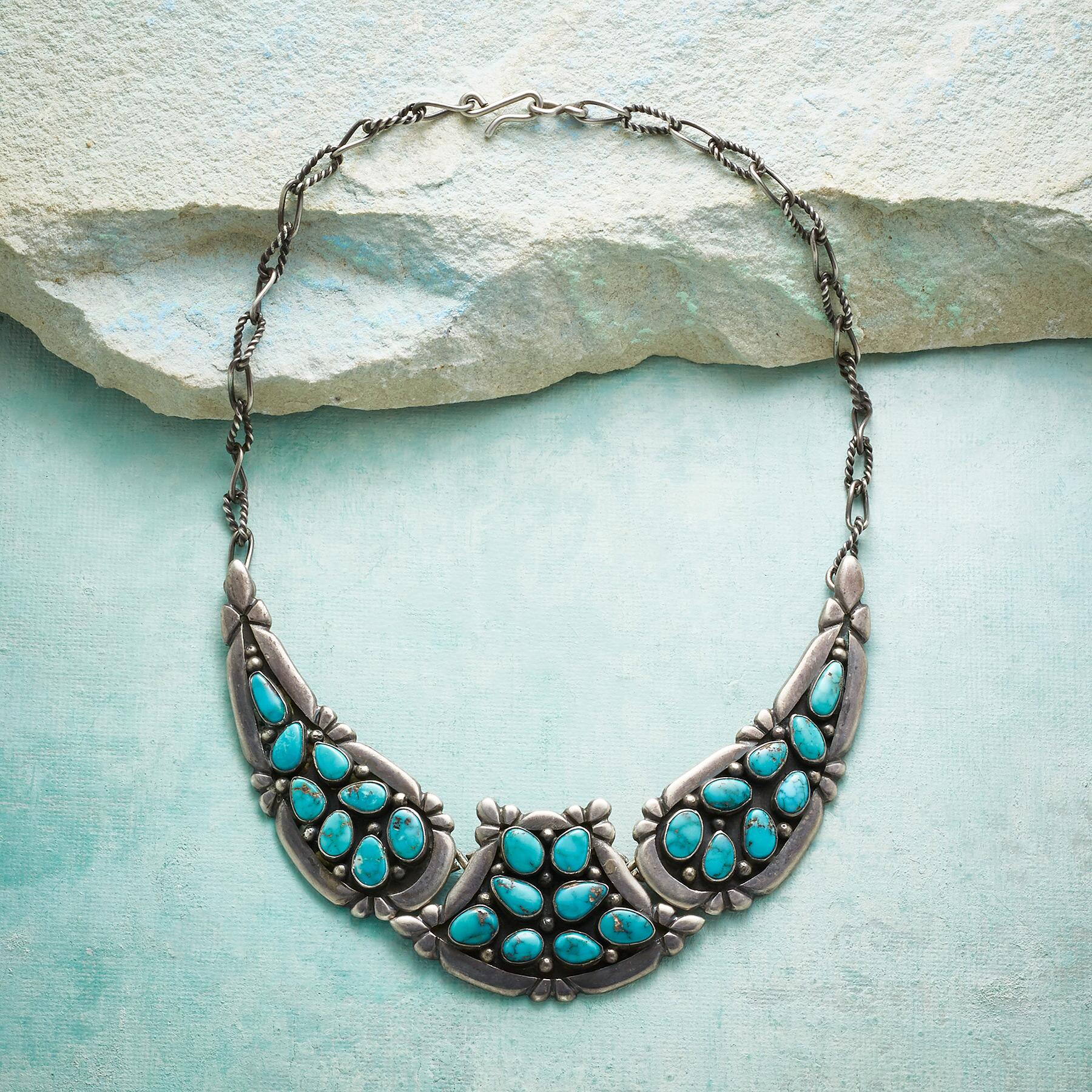 1950S CANDELARIA TURQUOISE NECKLACE: View 2