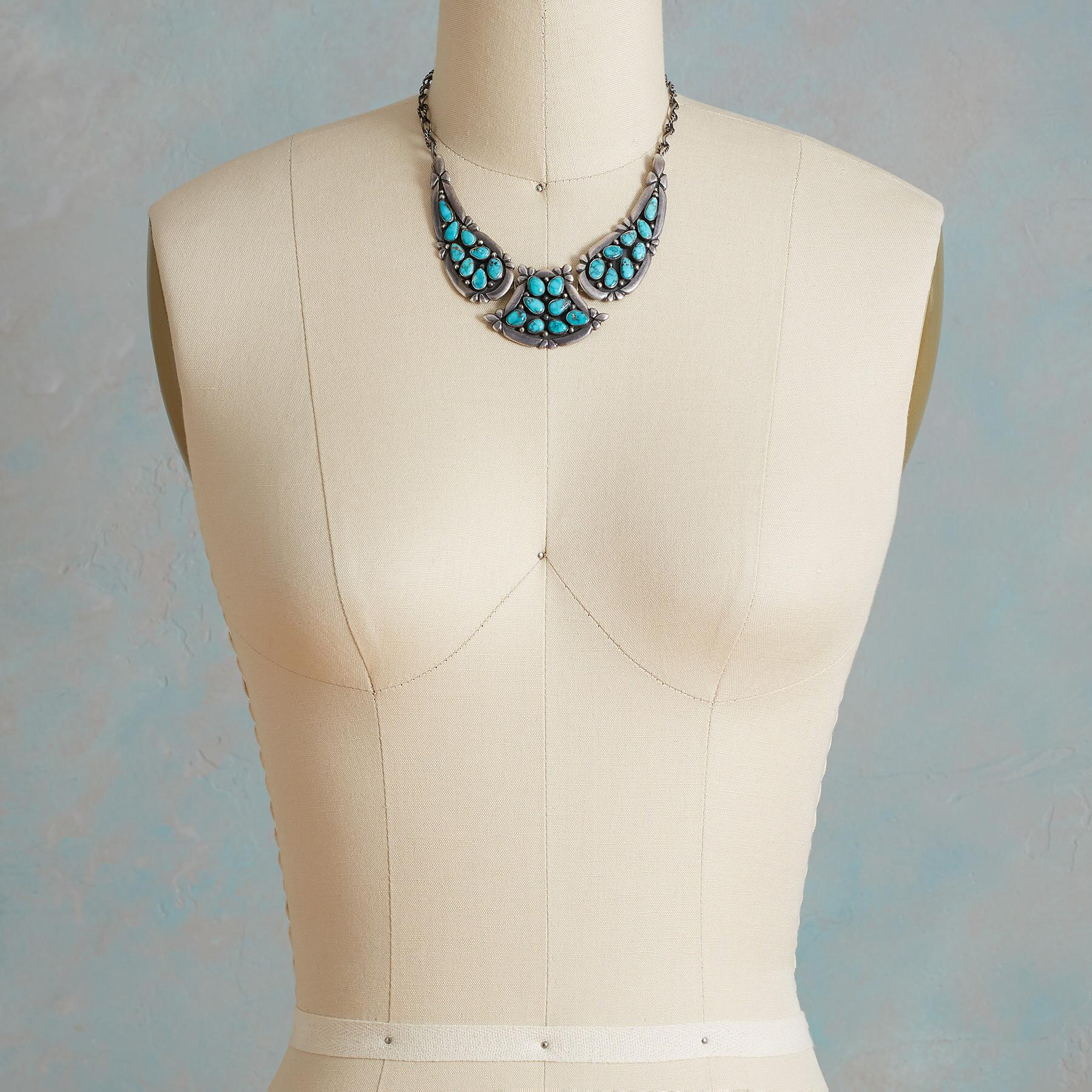 1950S CANDELARIA TURQUOISE NECKLACE: View 3