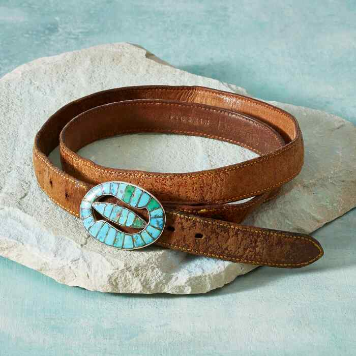 1940S MORENCI TURQUOISE BELT