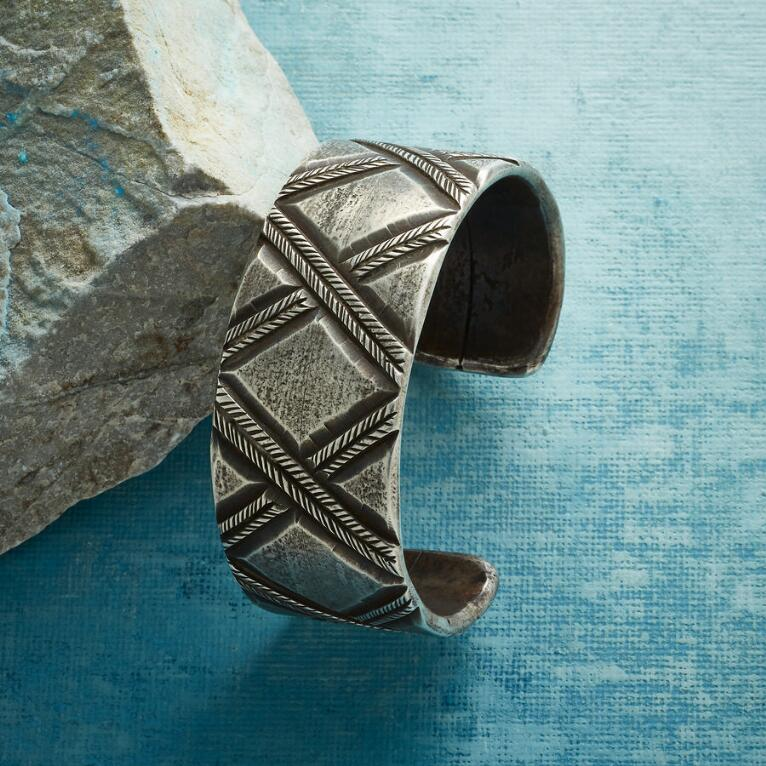 CROSSINGS STAMPED CUFF