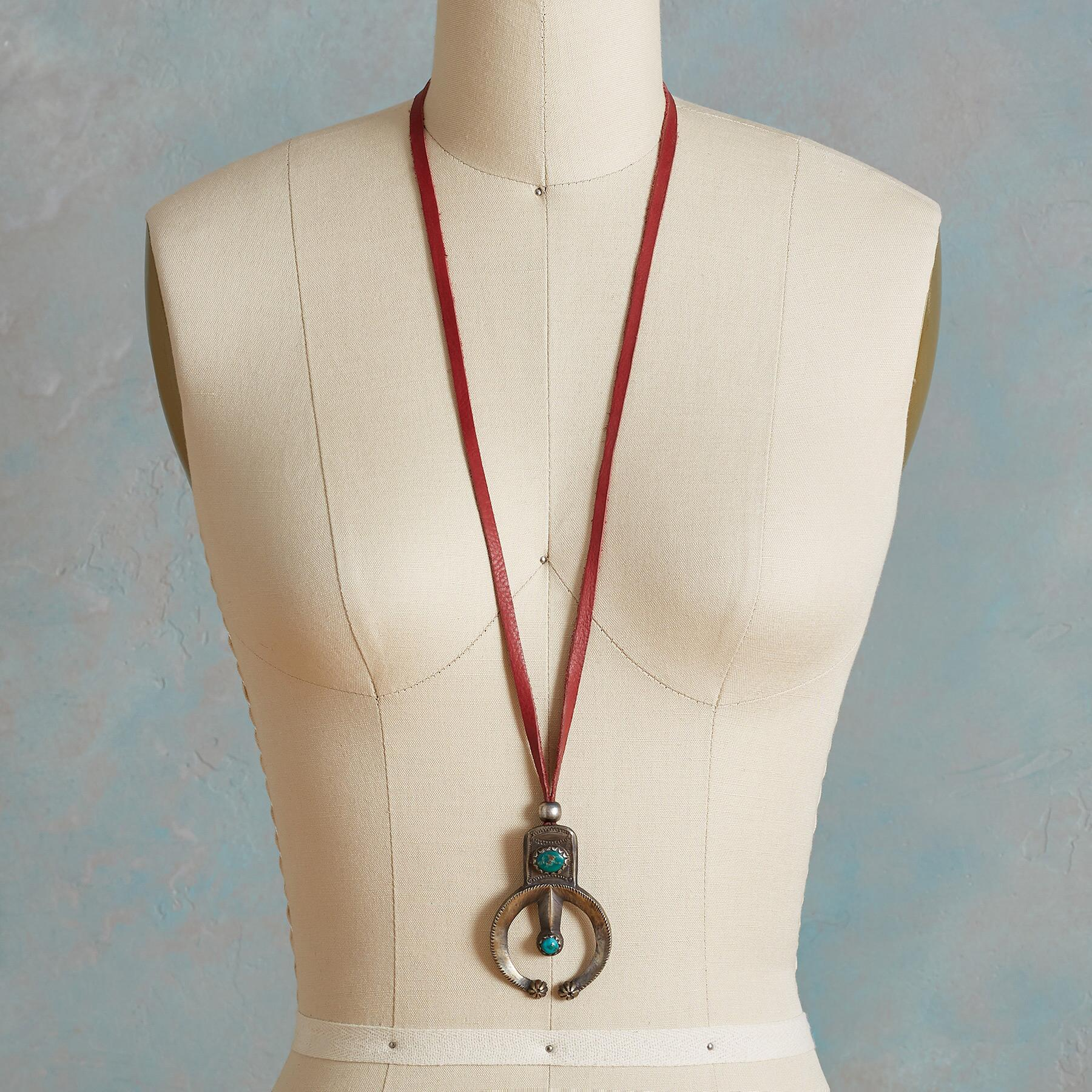 FOX TURQUOISE NAJA NECKLACE: View 4