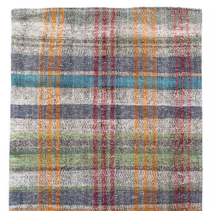 OZAN MIXED MATERIAL ONE-OF-A-KIND RUG