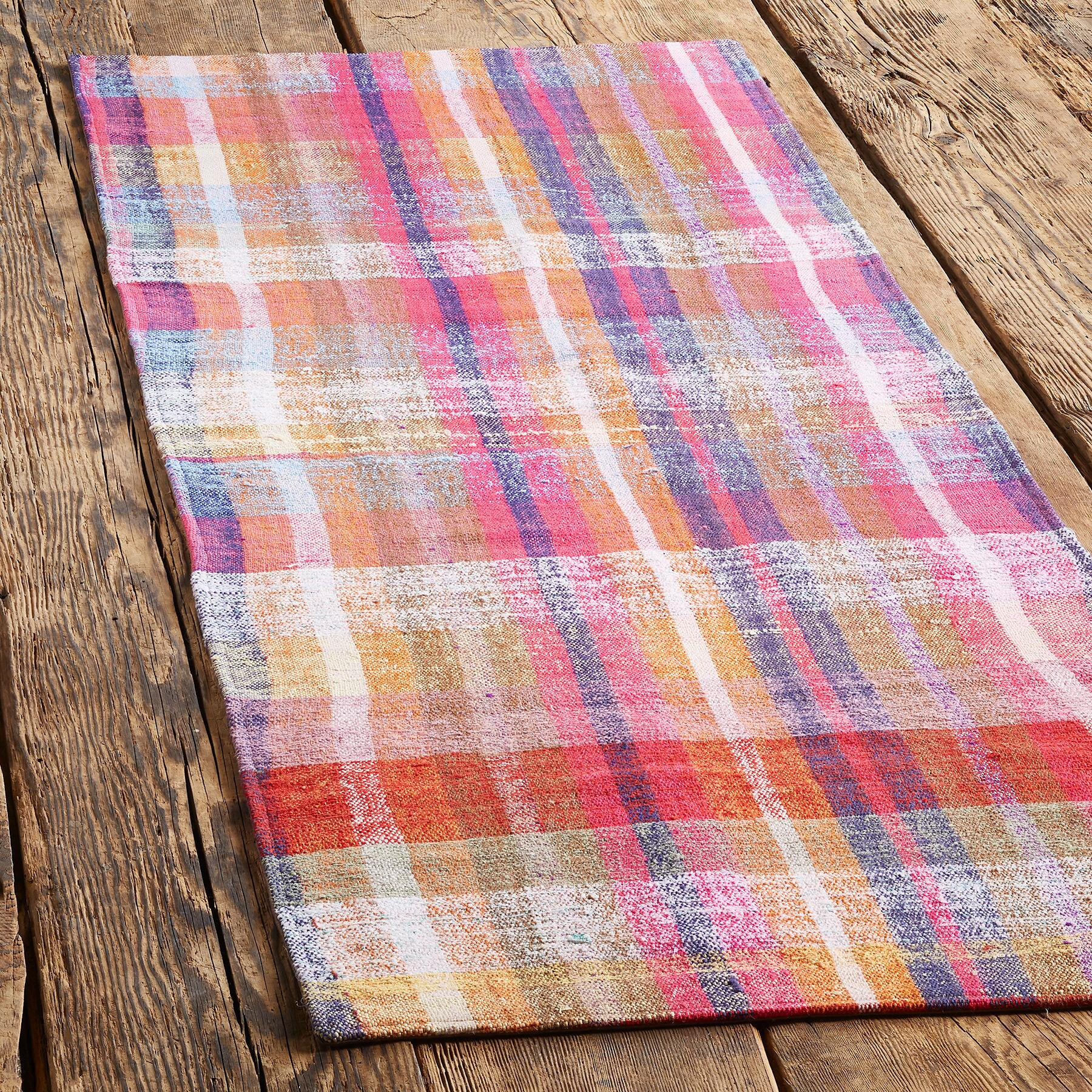 SELIM ONE-OF-A-KIND MIXED MATERIAL RUG: View 2