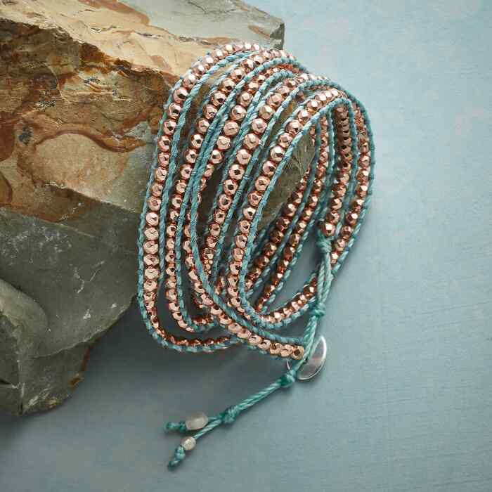 TWILIGHT SHINE 5 WRAP BRACELET