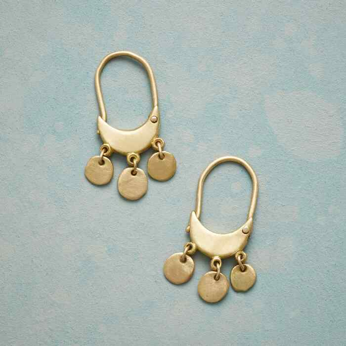 DANGLING DISKS EARRINGS